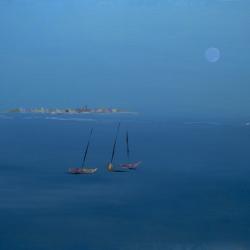 Brezza di Mare (2021) Acrilico su Tela 40x50cm - Diego Veneziani