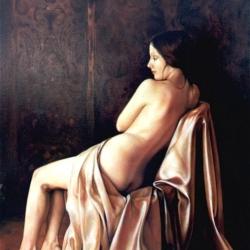 Nudo Artistico Olio su Tela 70x100 realizzato dall'Artista Gianni Baranello