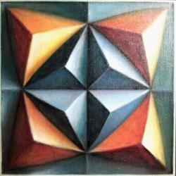 Gianni Baranello - serie Cronotopo opera d'arte contemporanea