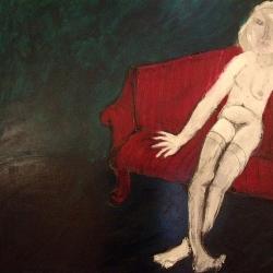 Amalassunta dipinto di Emilio De Grazia
