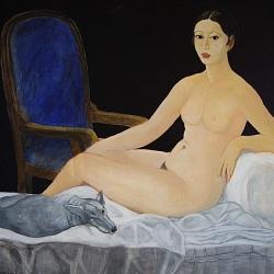Diana di Emilio De Grazia pittura