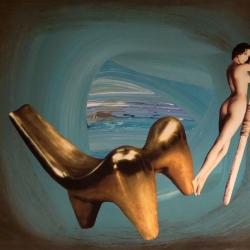 Lunare - Opera d'Arte di Loredana Raciti