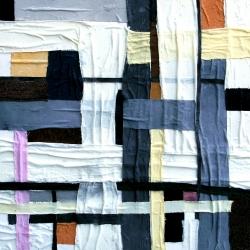 Anna Maria Tani (2012) - Weave Numero 05 - Mista su Tela 80x80cm