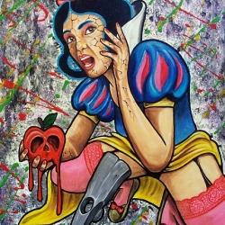 OGM - dipinto dell'artista Fabio Zanchi