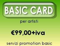 servizi basic per artisti