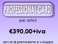 servizi per la professione di artista