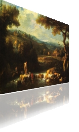 corso di paesaggio corso di pittura olio su tela