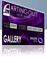 card per gallerie d'arte ed enti