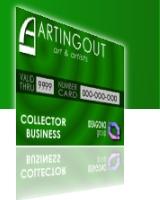 card business per collezionisti d'arte