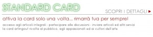 card per cultori dell'arte collezionisti d'arte e pubblico