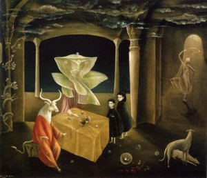 Leonora Carrington (1953) - And Then We Saw the Daughter of the Minotaur