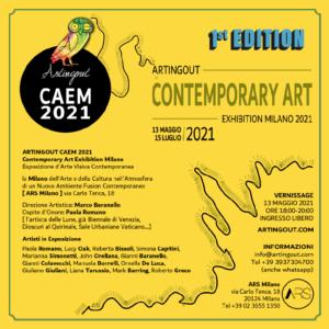 CAEM 2021 Mostra d'Arte a Milano